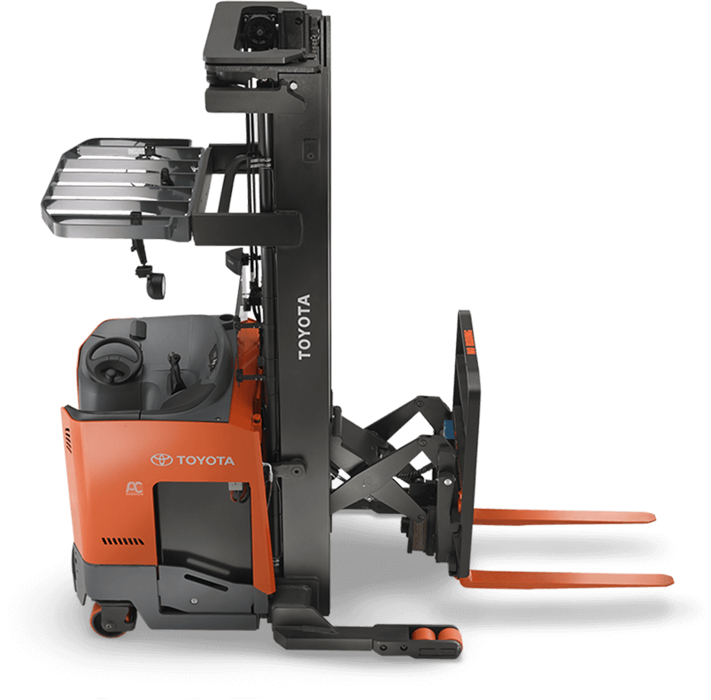 Reach truck hero image