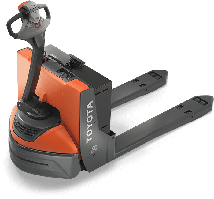 Small electric pallet jack