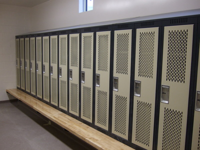 Lockers and Washrooms